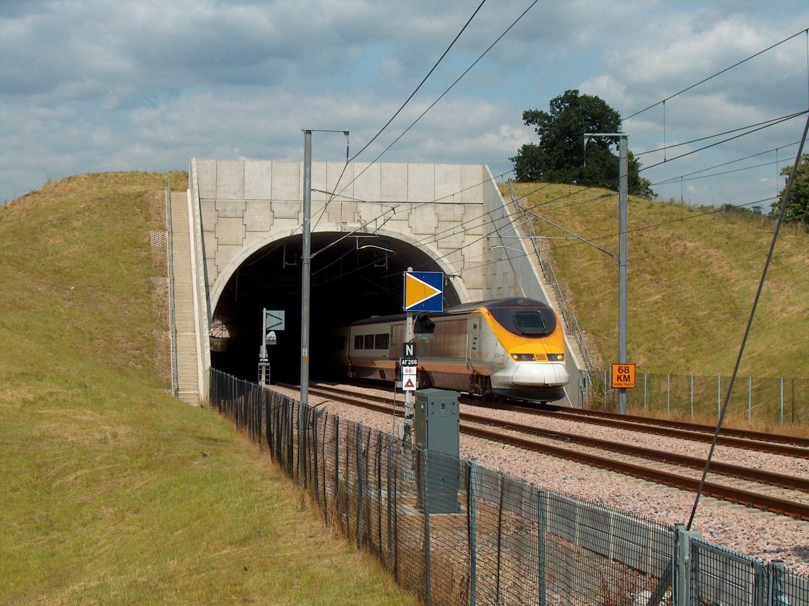 Channel Tunnel Rail link - Contract 420 - Eyhorne Tunnel